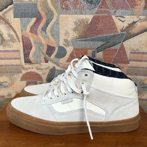 Vans Cream Off White Bedford Canvas Sz M8.5 W10